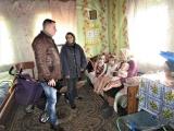 Обстежено умови проживання сімей, які потрапили у складні життєві обставини та сім'ї опікунів