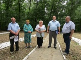 У Мурованих Курилівцях вшанували жертв єврейського геноциду