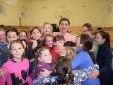 Для дітей школи-інтернат влаштували передноворічне свято