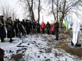 У Мурованих Курилівцях відкрито пам'ятник «Жертв голокосту»